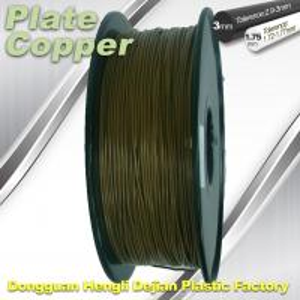 China Red Copper 1.75Mm 3D Printer Metal Filament High Temperature Resistance wholesale