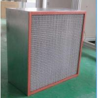 Industrial High Temperature Air Filter , Hepa Filtration H13 OEM Service