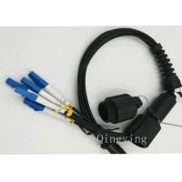 China PDLC 2 Cores ,4Cores ,6Cores Waterproof Outdoor Fiber Optic Patch Cord wholesale