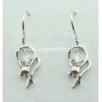 China 925 silver small earrings wholesale