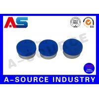 Buy cheap Glass Vial Aluminum Cap With Rubber Stopper For 10ml Bottles from wholesalers