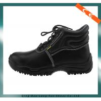 China Ce Certification Black Steel Toe Safety Shoes on sale