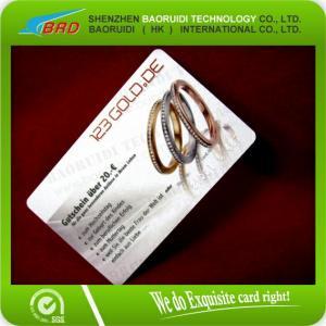 China Plastic Warranty Card Plastic Insurance Card wholesale
