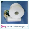China 100% girou o fio branco cru do poliéster 50/2 fio branco cru do Virgin PPSF wholesale