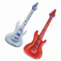 China Inflatable guitars, made of PVC plastic wholesale