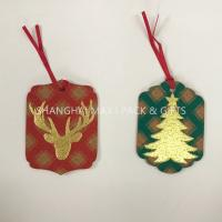 China Birthday House Festival Party Decorations , Cards Cork Red Small Personalized Holiday Gift Tags Hanging on sale