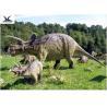 China High Simulation Attractive Giant Dinosaur Statue Replica For Amusement Park wholesale