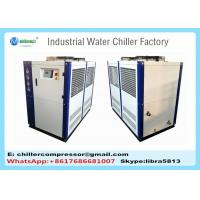 China 15hp Industrial Water Chiller for Plastic Extrusion Machine Process PVC Pipe with Chilling Water System wholesale