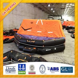 China 15P Marine Inflatable Life Raft wholesale