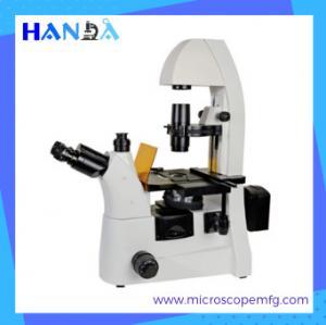 China HANDA inverted epifluorescence microscope  five wave bands fluorescent microscope on sale