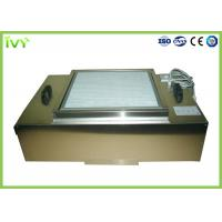 China Stainless Steel Hepa Filtration Unit , Hepa Filter Module Uniform Air Speed on sale