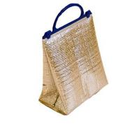 Reusable Recyclable Food Thermal Bags , Foil Standing Insulated Bags