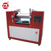 China Water / Air cooling Lab Two Roll Mill , Rubber Testing Machine Polymer Mixing Available wholesale