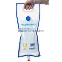 China 5L BPA Free Collapsible Water Bottle Foldable plastic Water Bag for Promotional/Camping/Climbing/Picnic/BBQ bagease pack wholesale