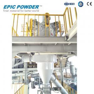 China Centrifugal Force Ball Mill Equipment Quartz Sand Powder Grinding Process wholesale