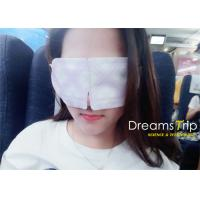China Self Heatable Steam Eye Mask For Dry Eyes , Customized Processing Design wholesale