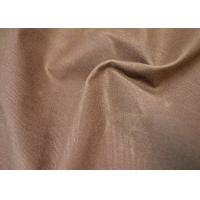 China Special Waxed Cotton Canvas / 100 Cotton Fabric With Stiff Handfeel wholesale