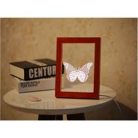 China 3D Butterfly Frame Lamp wholesale