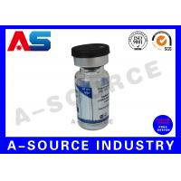 China Custom Product Labels Custom Clear Labels For Dropper Bottles With Flip Off Cap on sale