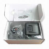 China One Way Car Alarm with Remote Control and Mute Arming/Disarming Function wholesale