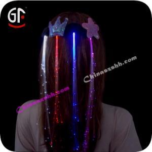 China Flashing Fiber Hair on sale