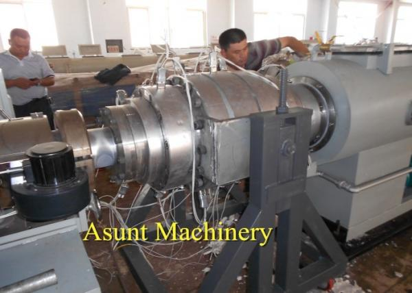 Quality Drainage / Inlet PVC Pipe Making Machine Double Pipe Extrusion Machine Dia 16Mm - 110mm for sale