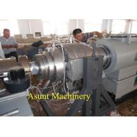 China Drainage / Inlet PVC Pipe Making Machine Double Pipe Extrusion Machine Dia 16Mm - 110mm wholesale