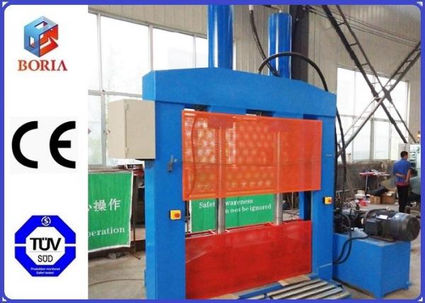 Quality PVB Guillotine Cutting Machine , Vertical Hydraulic Cutting Machine With Single Blade for sale
