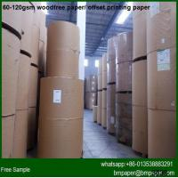 China Different Sizes Offset Wood Free Color Printing Paper wholesale