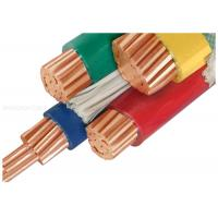 China 1000V Copper Conductor PVC Insulated Cables Customized With Three Half Core wholesale