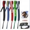 China colorful customer printing simple sunglasses neoprene sports eyeglasses holder strap wholesale
