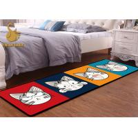 Buy cheap Contemporary Floor Rugs Digital Printed / Washable Living Room Rugs Modern Design from wholesalers