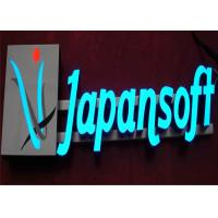 China Acrylic Metal LED Illuminated Channel Letters For Decorating Store Sign High Brigh on sale