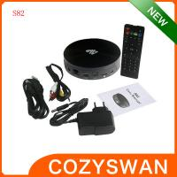China Smart Amlogic S82 Four Core 4.4 Android TV Box 4K XBMC Media Player Miracast and DLNA Treaty wholesale