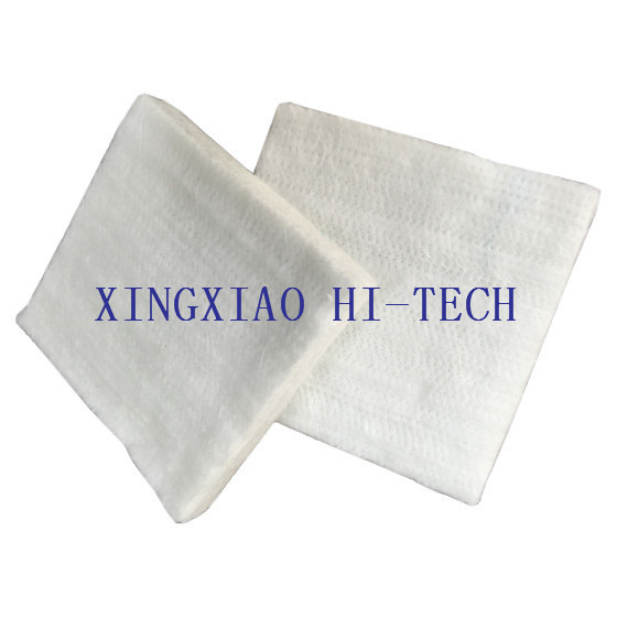 Quality Fireproof Fiberglass Thermal Insulation Fabric , Needle Punched Felt Carpet / Mat for sale