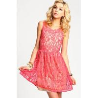 China Customized Slim Lace Deep V Neck Womens Party Dresses With Bowknot wholesale