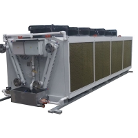 China Reversible Aluminum Fin Air Condenser Cooler 100kw 15 Ton Cooling Coil wholesale