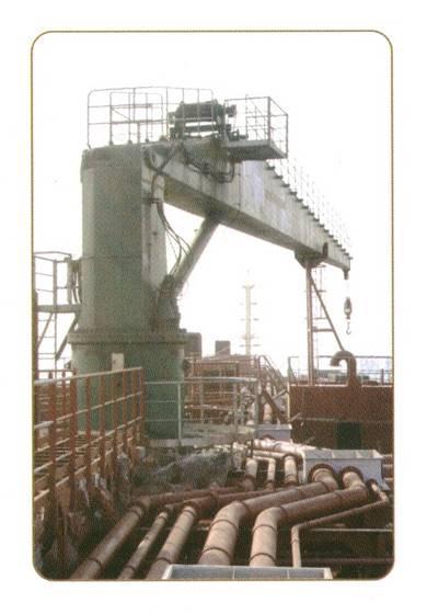 Marine Deck Crane\/Provision Crane\/Hose Han