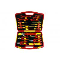 China 18pcs 1000V Plastic Insulated Hand Tools ABS Shockproof Plastic Case on sale