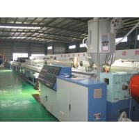 China Silicon Core HDPE Plastic Pipe Production Line , Pipe Diameter 16-63mm wholesale