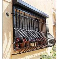 China wrought iron window grille on sale