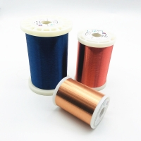 China 0.02mm Polyurethane Insulated Copper Enameled Wire For Motor Winding wholesale
