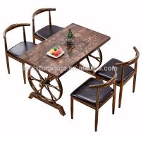 China Commercial Modern Metal Dining Chairs , Dining Table Chairs Metal Legs wholesale