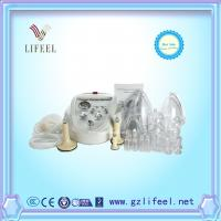 China Female lymphatic drainage and nipple breast pump enlargement breast growing cupping therapy cupping glass cups machine wholesale