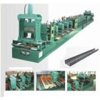 China 0.6 - 1.0mm Galvenized Sheet Cable Tray Roll Forming Machine PLC Control wholesale