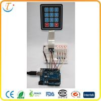 China Professional 50V Tactile Metal Dome Membrane Switch Embossed Membrane keypad on sale
