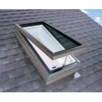 Buy cheap China aluminum frame with glass residential flat roof electric opening skylight from wholesalers
