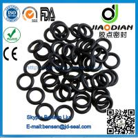 China Black NBR O Rings Mechanical Seals with SGS RoHS FDA Certificates AS568-JIS2401-ISO3601 (O-RINGS-0054) on sale