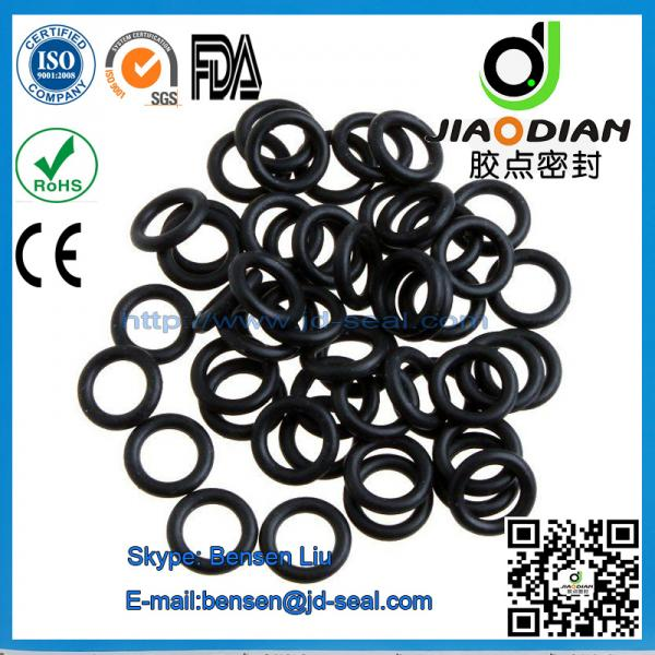 Quality Black NBR O Rings Mechanical Seals with SGS RoHS FDA Certificates AS568-JIS2401-ISO3601 (O-RINGS-0054) for sale