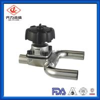China U Type Sanitary Stainless Steel Valves Low Pressure Diaphragm Control Valve on sale